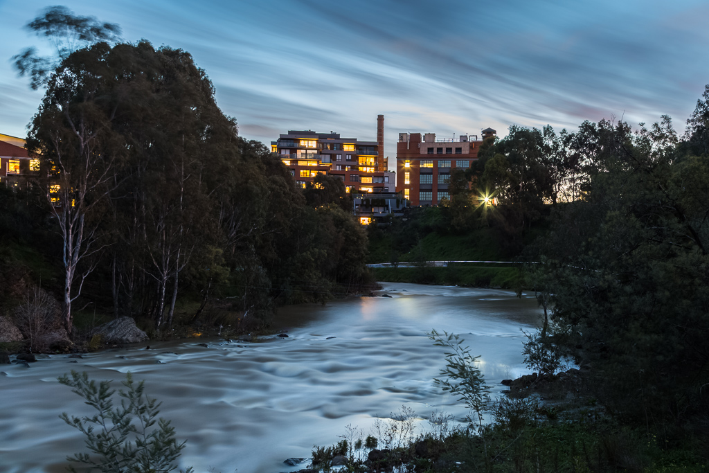 winter-twilight-yarra-river-below-dights-falls-abbotsford