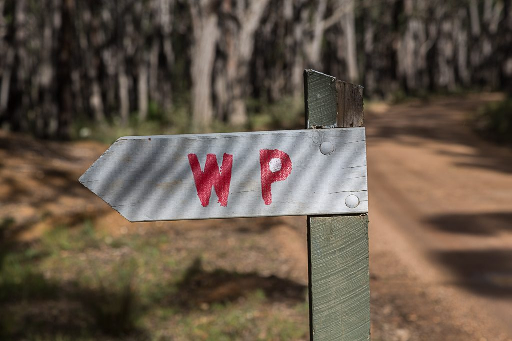 water-point-sign-brisbane-ranges-national-park