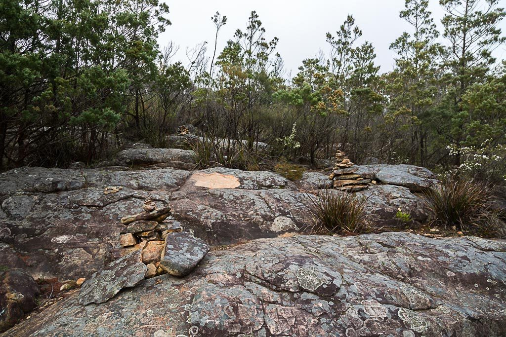 rock-cairns-fortress-track-grampians