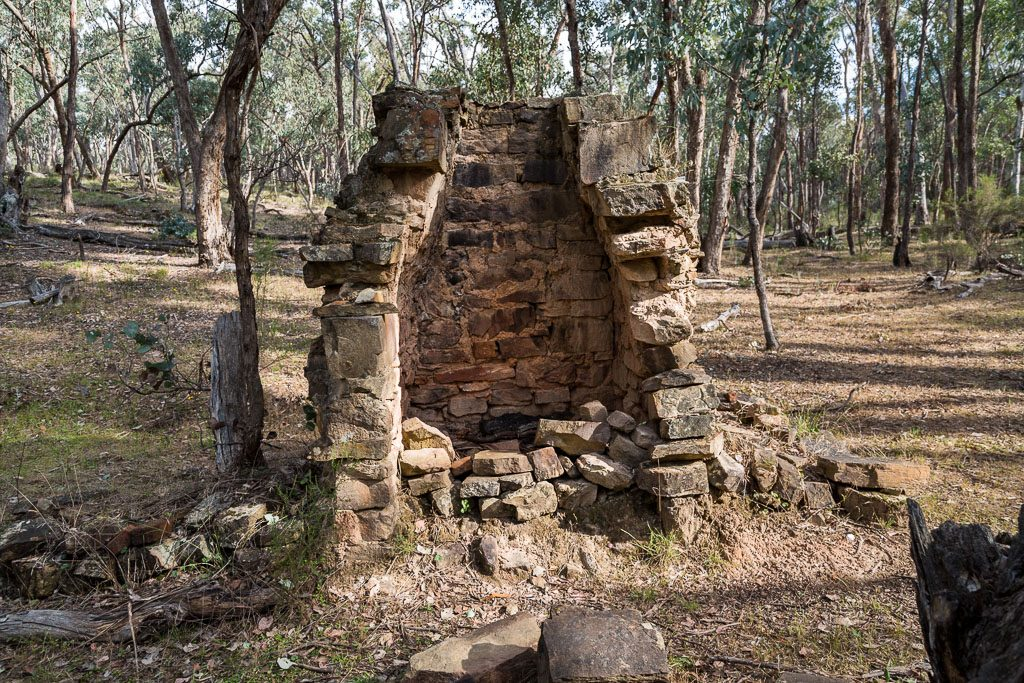 chimney-ruin-castlemaine-diggings-national-heritage-park