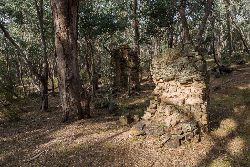 chimney-ruins-castlemaine-diggings-national-heritage-park