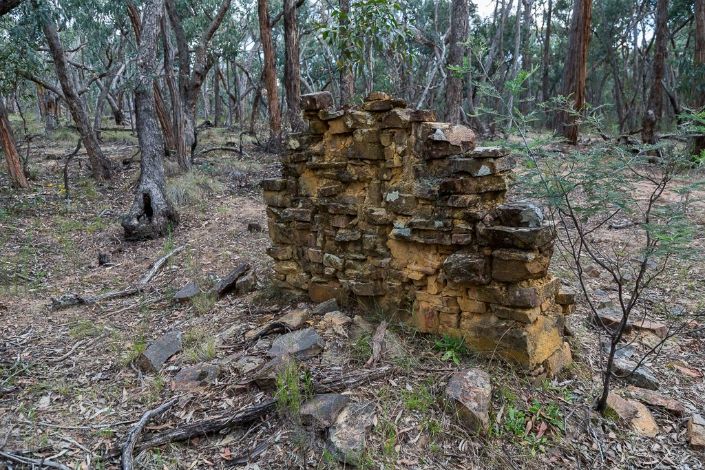 chimney-ruins-dry-diggings-track