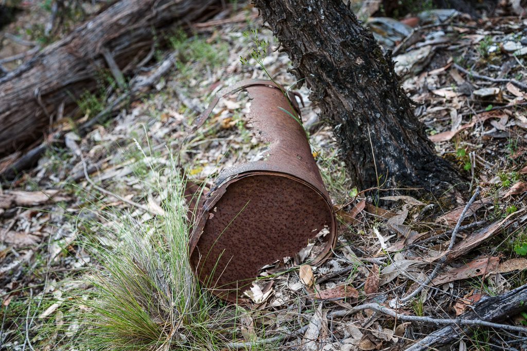 rusted-metal-gold-workings-castlemaine-diggings-national-heritage-park