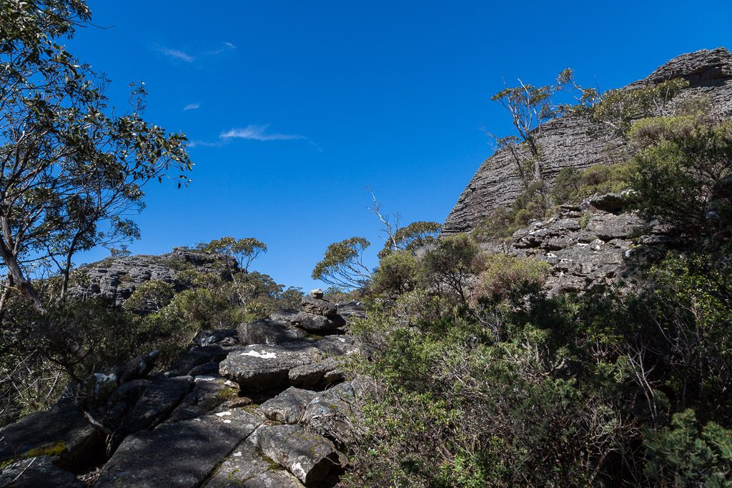 rock_cairn_climb_mount_thackeray_grampians