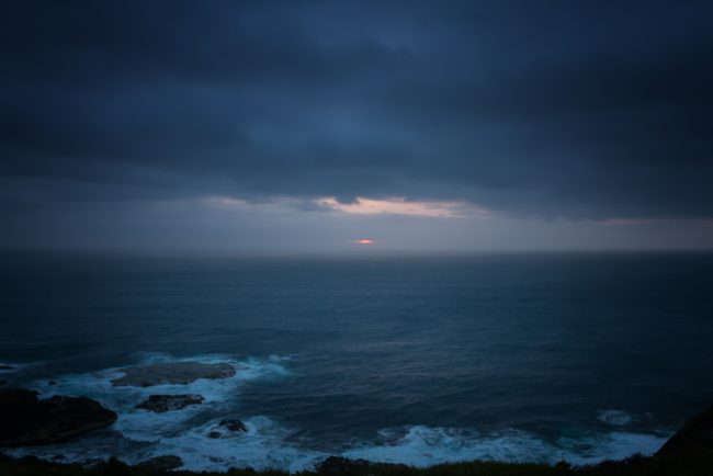 sun-setting-ocean-cape-schanck