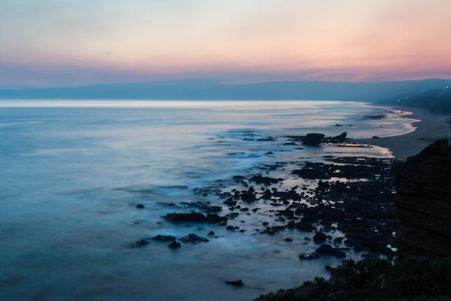 sunset-pink-sky-over-ocean