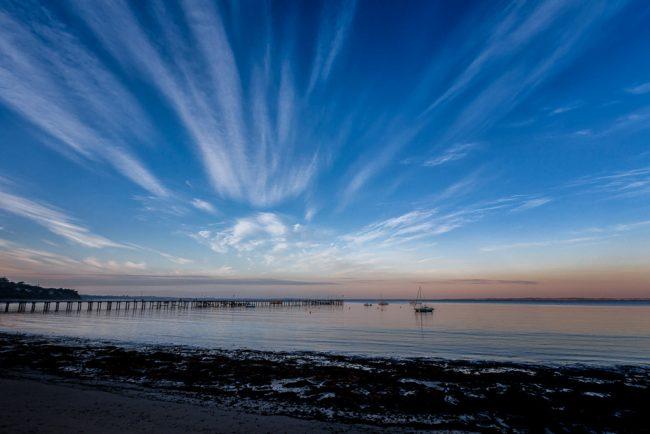 flinders-pier-sunset
