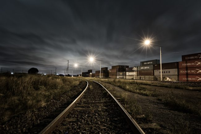 railway-line-night