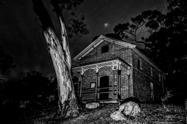 steiglitz-court-house-night